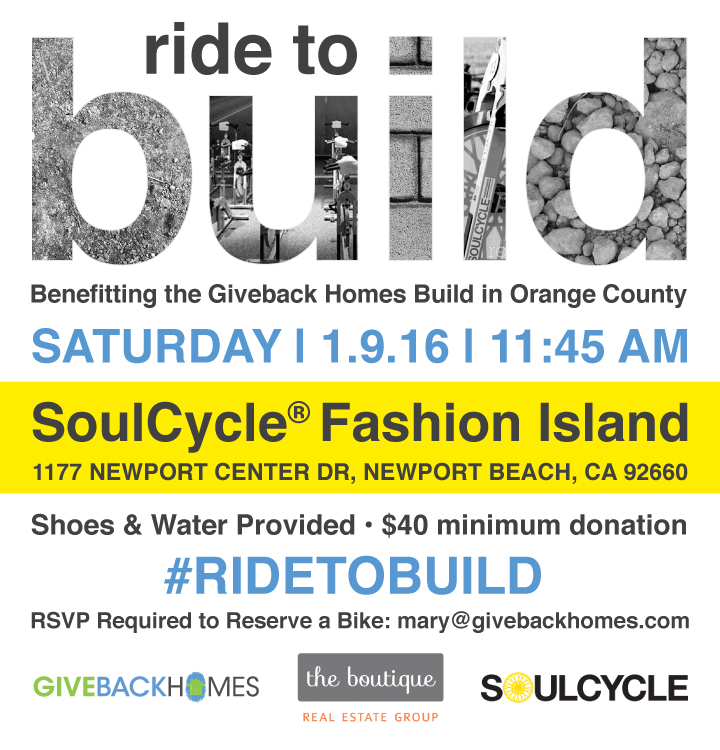 SoulCycle Event