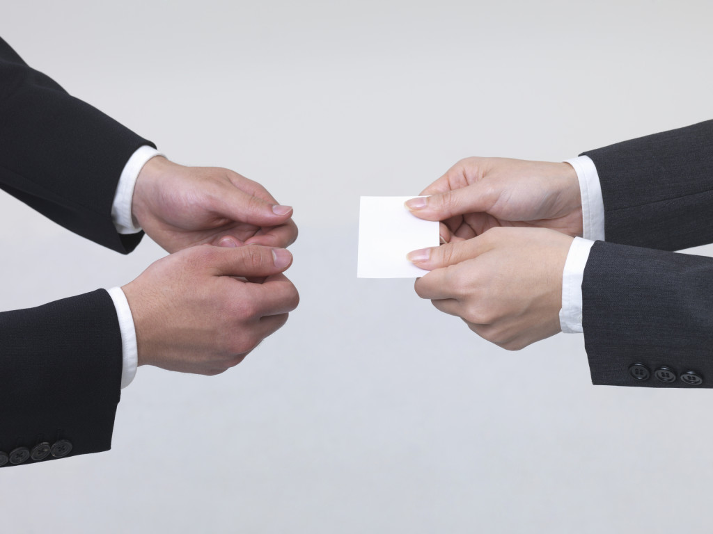 Business Card Etiquette | The Boutique Real Estate Group