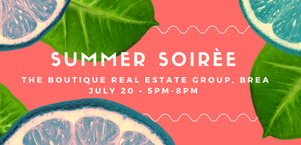 Summer Soiree Pop-Up Shop | The Boutique Real Estate Group