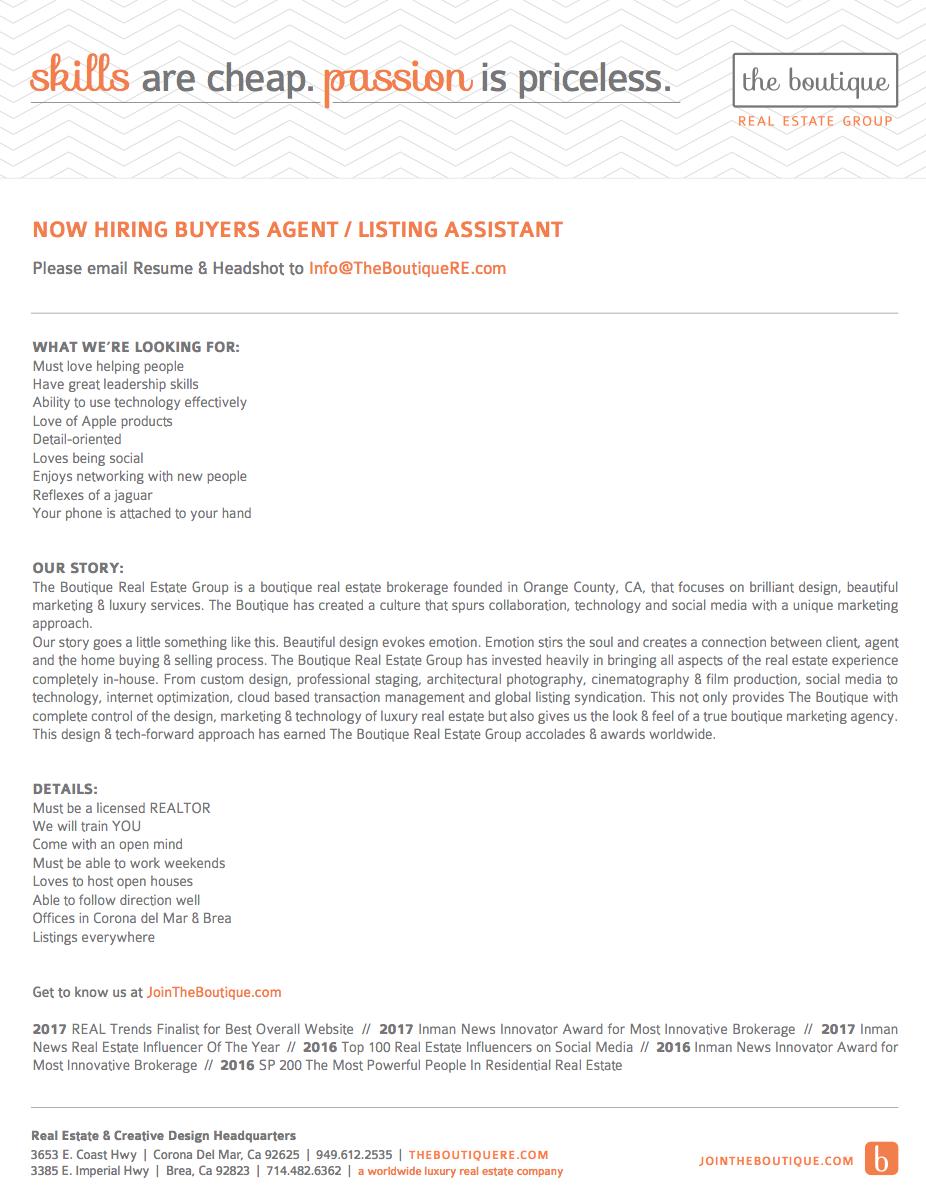 BuyersAgent-ListingAssistant
