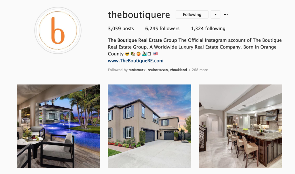 Instagram Tips For 2018 The Boutique Real Estate Group